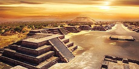 """Audiovisual coloquio """"La pirámides de Teotihuacán"""" entradas"""