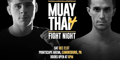 Stout Fights Presents Muay Thai Fight Night 4