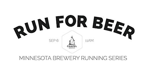 Beer Run - Chapel Brewing | 2020 Minnesota Brewery Running Series