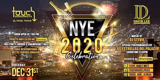 New Year's Eve 2020 • Touch Bar El Paso