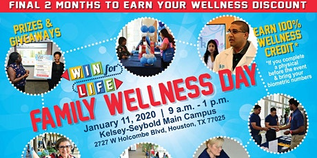 Win for Life - Family Wellness Day tickets