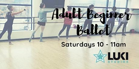 Beginner/Intermediate Series: Ballet [Jan 2020] tickets
