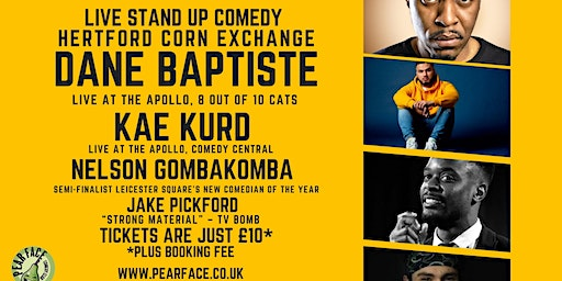 Live Stand up Comedy with Headliners Dane Baptiste and Kae Kurd