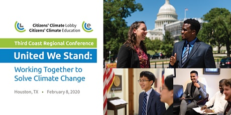 Citizens' Climate Lobby Third Coast Regional Conference: United We Stand tickets