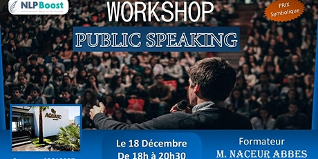 workshop - public speaking billets