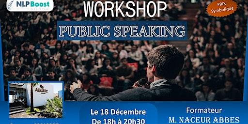 workshop - public speaking