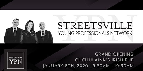 "SYPN ""Grand Opening"" of the Streetsville Young Professionals Launch Party! tickets"