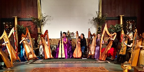 Holiday Harp Ensemble Concert at Redwood Theater at Isis Oasis Sanctuary tickets