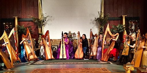 Holiday Harp Ensemble Concert at Redwood Theater at Isis Oasis Sanctuary