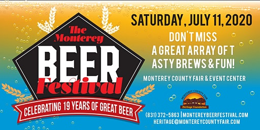2020 The Monterey Beer Festival