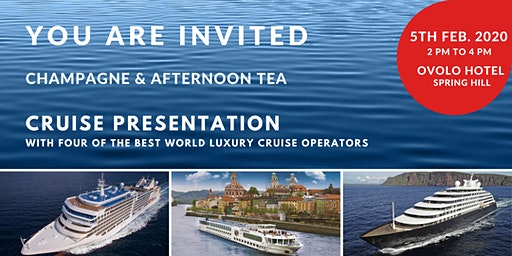 2020 Luxury Cruise Presentation - Brisbane