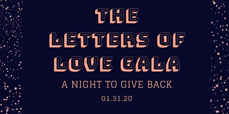Letters of Love Gala tickets