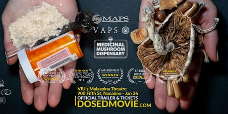 DOSED with Q&A at VIU's Malaspina Theatre - Nanaimo -one day only! (3:00pm) tickets