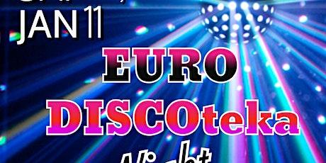 EURO Discoteka Night - Lounge 76 - Radisson Hotel $15 tickets