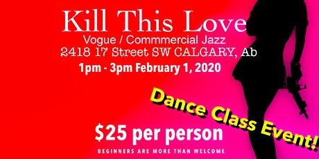 Kill This Love - Commercial Jazz Dance Class - BlackPink tickets
