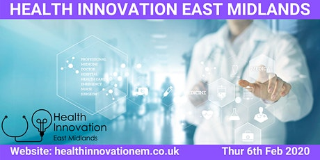 Health Innovation East Midlands Meet up tickets