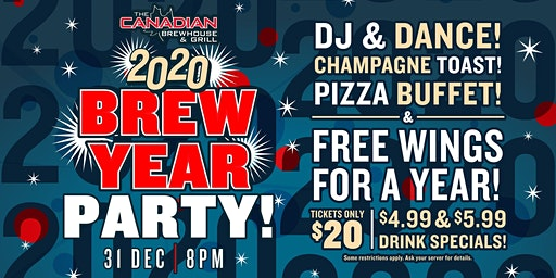 2020 Happy Brew Year Party (Prince George)