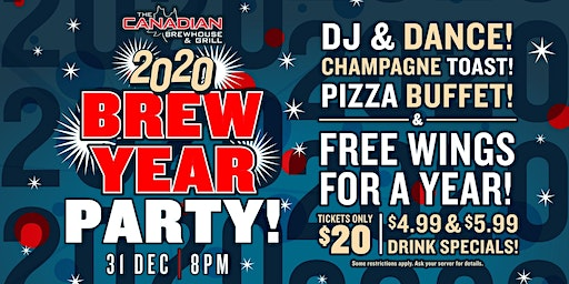 2020 Happy Brew Year Party (Fort St. John)