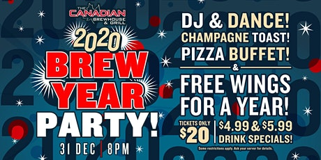 2020 Happy Brew Year Party (Abbotsford) tickets