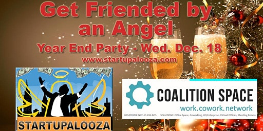Get Friended by an Angel at our Year End Fest