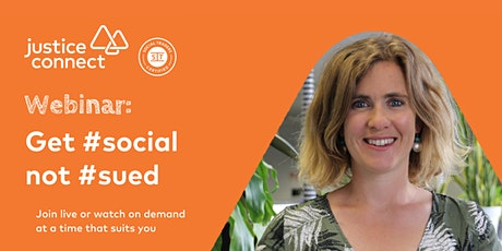 Get #social not #sued – Social Media and the Law Webinar tickets