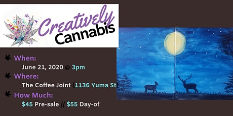 Creatively Cannabis: Tokes & Brushstrokes - Father's Day Edition (6/21/20) tickets