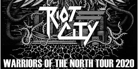Riot City and Traveler Tour Kick Off w/ Road Rash & The Cadavor Dog tickets