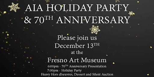 2019 Annual Christmas Party and 70th Anniversary Celebration