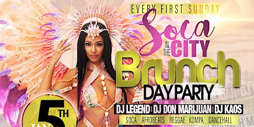 SOCA IN THE CITY Brunch & Day Party