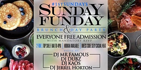 Sunday Funday Brunch & Day Party | 120 Mins Unlimited Mimosa/Sangria tickets