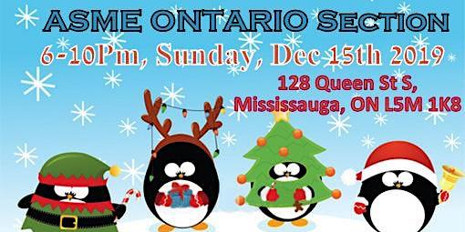 ASME Ontario Christmas Get-together 2019