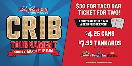 Jensen Lakes Crib Tournament! tickets