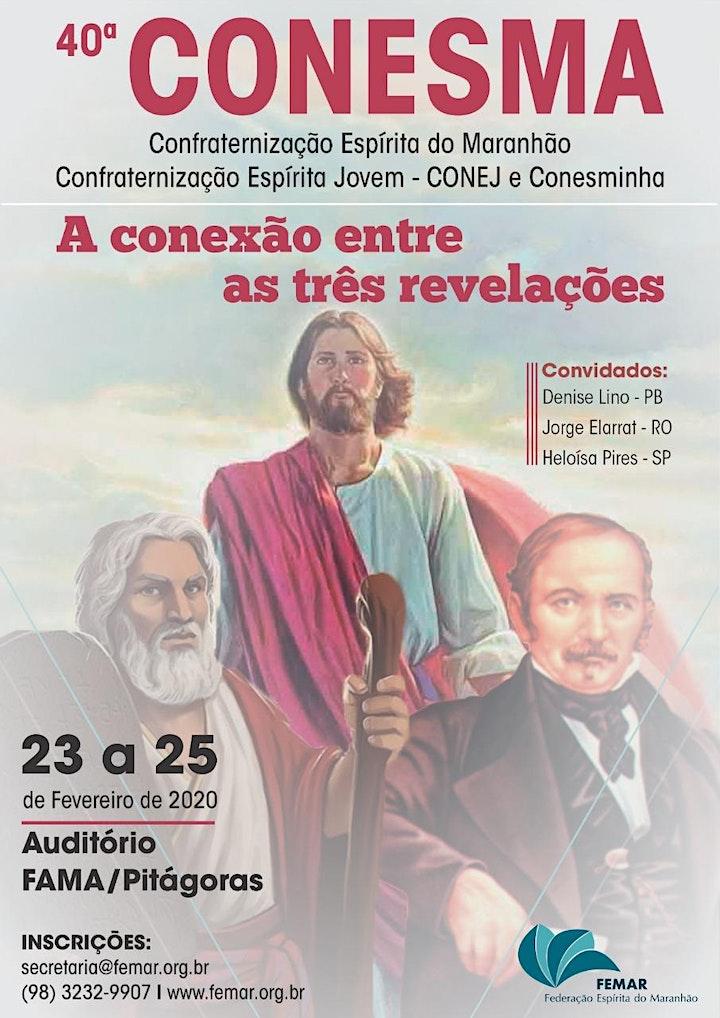 Imagem do evento 40a CONESMA - Confraternização Espírita do Maranhão