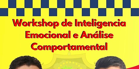 workshop de inteligencia emocional e analise comportamental para policiais tickets