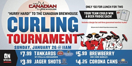 Jensen Lakes Curling Tournament!