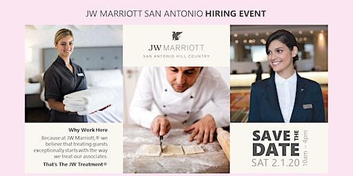 Hiring Event - JW Marriott San Antonio
