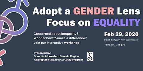 Adopt a Gender Lens: Focus on Equality Forum tickets