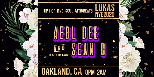 Lukas NYE with Sean G & Aebl Dee - hosted by Bay.be