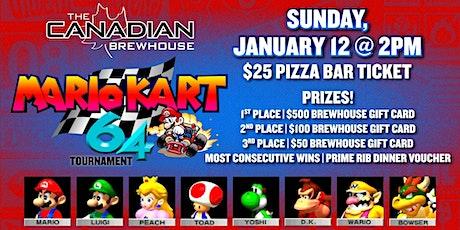 Ellerslie Mario Kart 64 Tournament! tickets