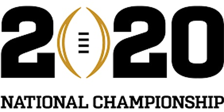 National College Football Championship 2020 tickets