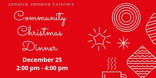 Volunteers Needed for Free Community Christmas Dinner