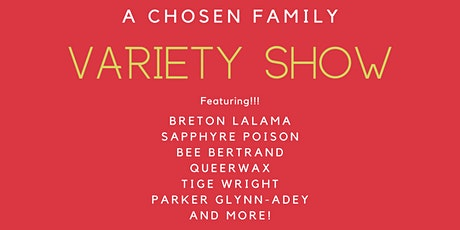 A Chosen Family Holiday tickets