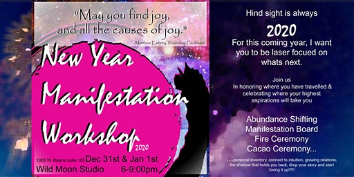 New Year Manifestation 2020 Workshop
