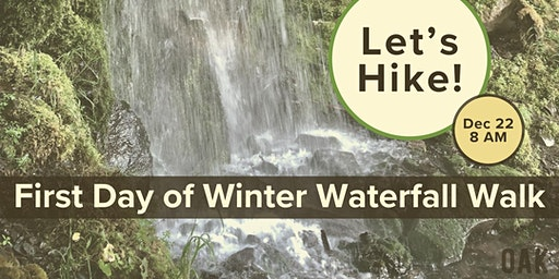 First Day of Winter Waterfall Walk