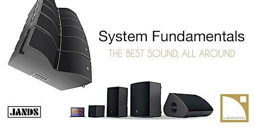 L-Acoustics - System Fundamentals Training (Melbourne)