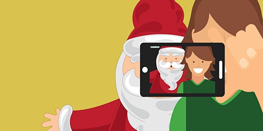 Selfies with Santa!