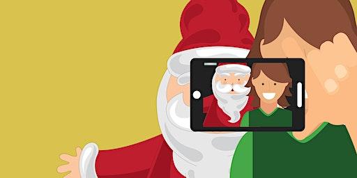 Selfies with Santa!