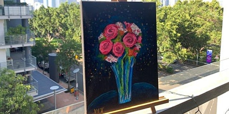 Paint and Sip Brisbane 57% off only $19 plus Free Photography Tour tickets