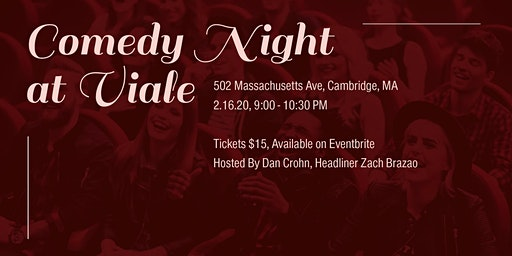 The Hacks Comedy Night at Viale