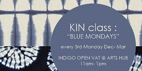 Blue Mondays- Indigo Open Vat tickets